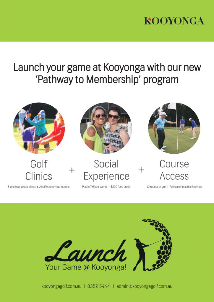 Launch your game at Kooyonga full promo
