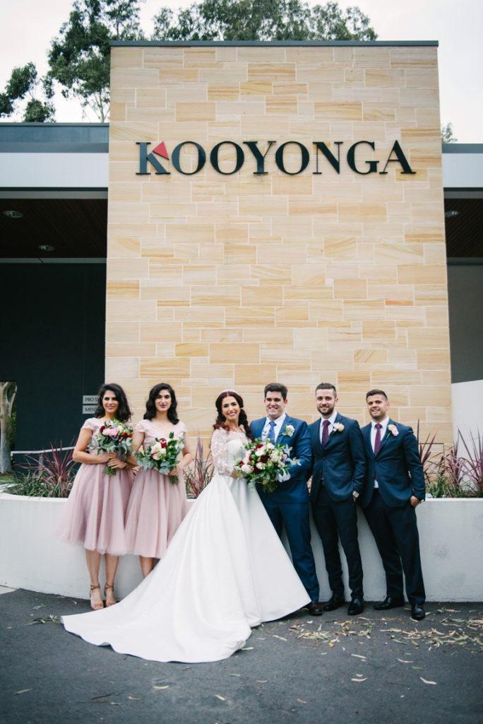 Briday party at Kooyonga